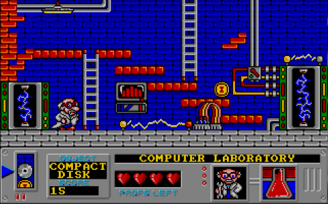 Screenshot from Mad Professor Mariarti