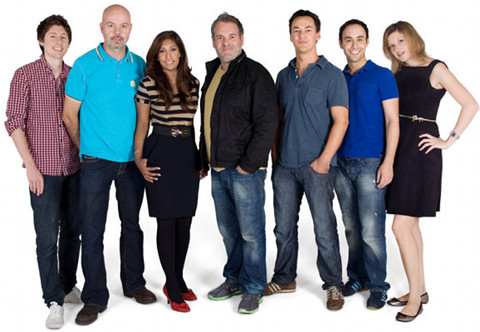 The Chris Moyles Team