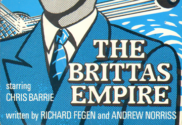 Brittas Empire ticket - front