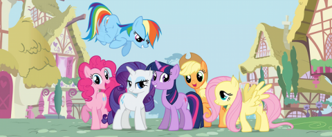 Friendship Is Magic: Mane Cast