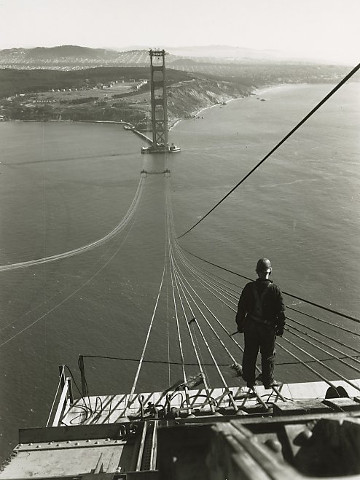 Real picture of The Golden Gate Bridge