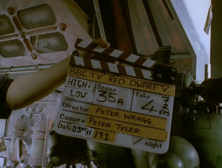 High & Low clapperboard