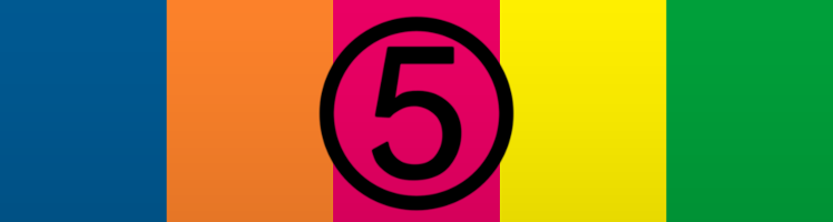 Recreation of the 1997 Channel 5 logo - with thanks to Danny Stephenson