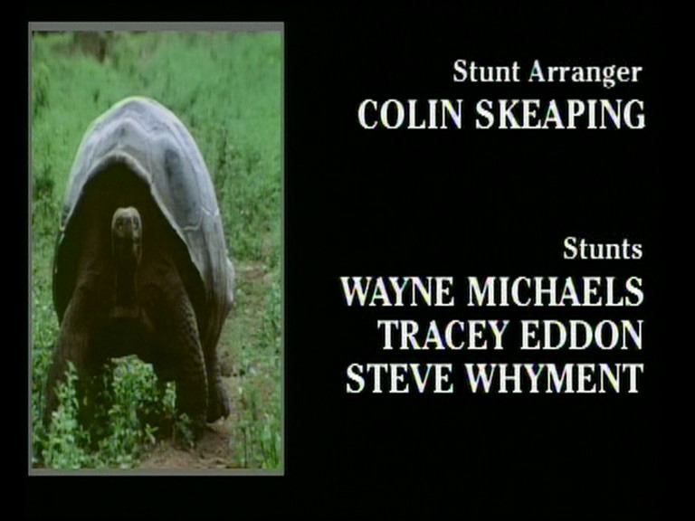 DVD credits - stunts