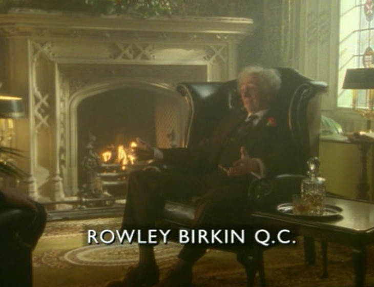 Episode 1, - Rowley Birkin - broadcast
