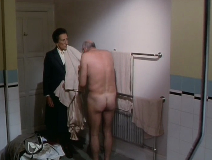 Richard Wilson's bottom
