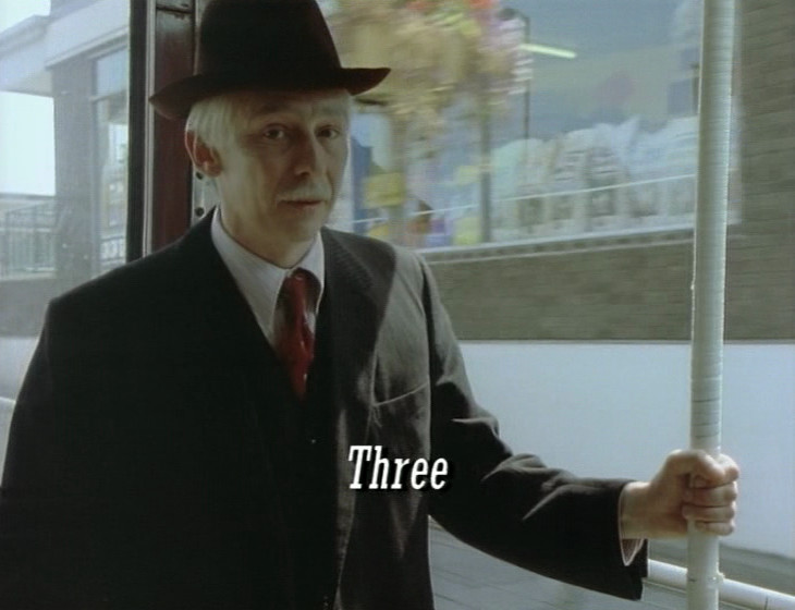 Episode 2, includes episode title, on DVD