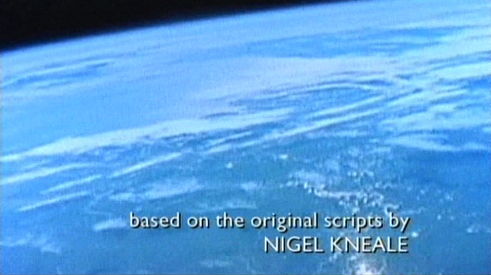 Third shot of titles, broadcast