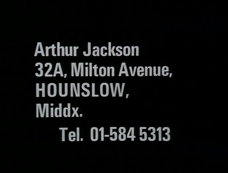 Original version of Arthur Jackson address