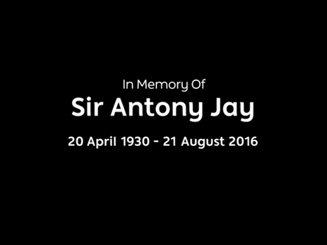 Anthony Jay obit caption
