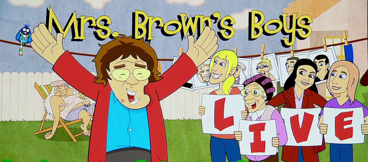 Mrs Brown's Boys Live title screen