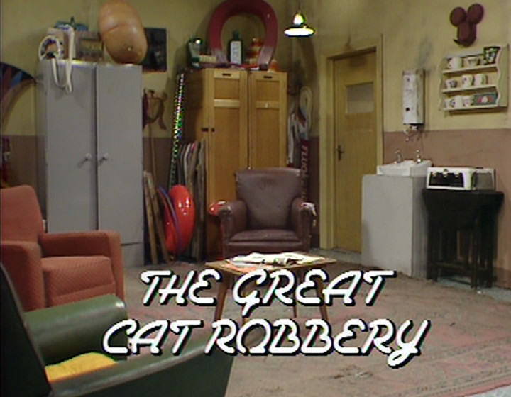 The Great Cat Robbery title card
