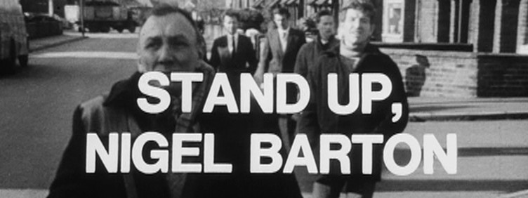 Stand Up, Nigel Barton - title card