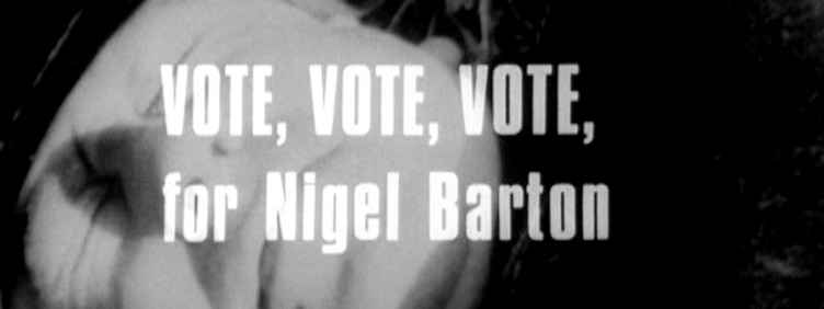 Vote, Vote, Vote for Nigel Barton title card