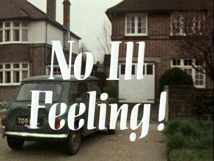 No Ill Feeling! title card